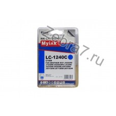 Картридж для Brother MFC-J6510/6710/6910 (LC1240C) син (9,6ml, Dye) MyInk