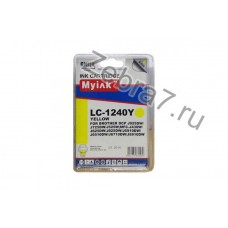 Картридж для Brother MFC-J6510/6710/6910 (LC1240Y) желт (9,6ml, Dye) MyInk