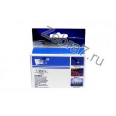 Картридж для CANON BCI-21/24C S-200/300/i320/BJC-4000 цв Unijet