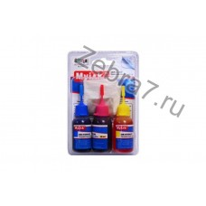 Заправочный набор HP для картриджей без печатающей головки (3x30ml,цв,Dye) NR-H3003C/M/Y MyInk