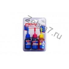 Заправочный набор HP для картриджей c печатающей головкой (3x30ml,цв,Dye) NR-H3006C/M/Y MyInk